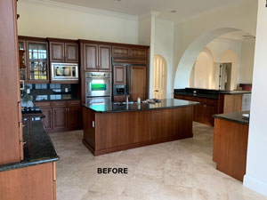 cabinet refinishing FL