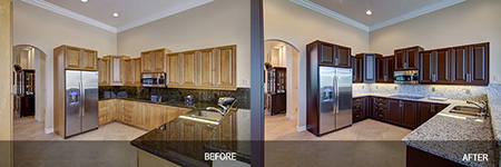 kitchen cabinet refinishing Hialeah