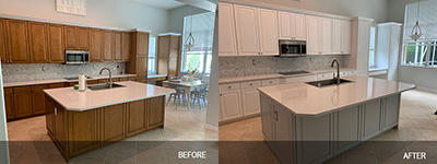 kitchen and bath refinishing Hialeah