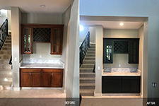 bath cabinets make over florida