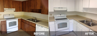 Refinishing kitchen cabinets under kitchen cabinet painters fort