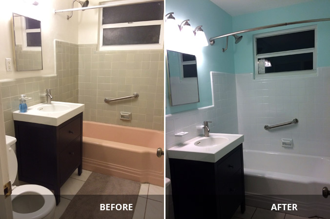Kitchen Bath Refinishing MiamiFort Lauderdale Area - Kitchen and bathroom resurfacing